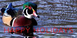 Christmas card MW